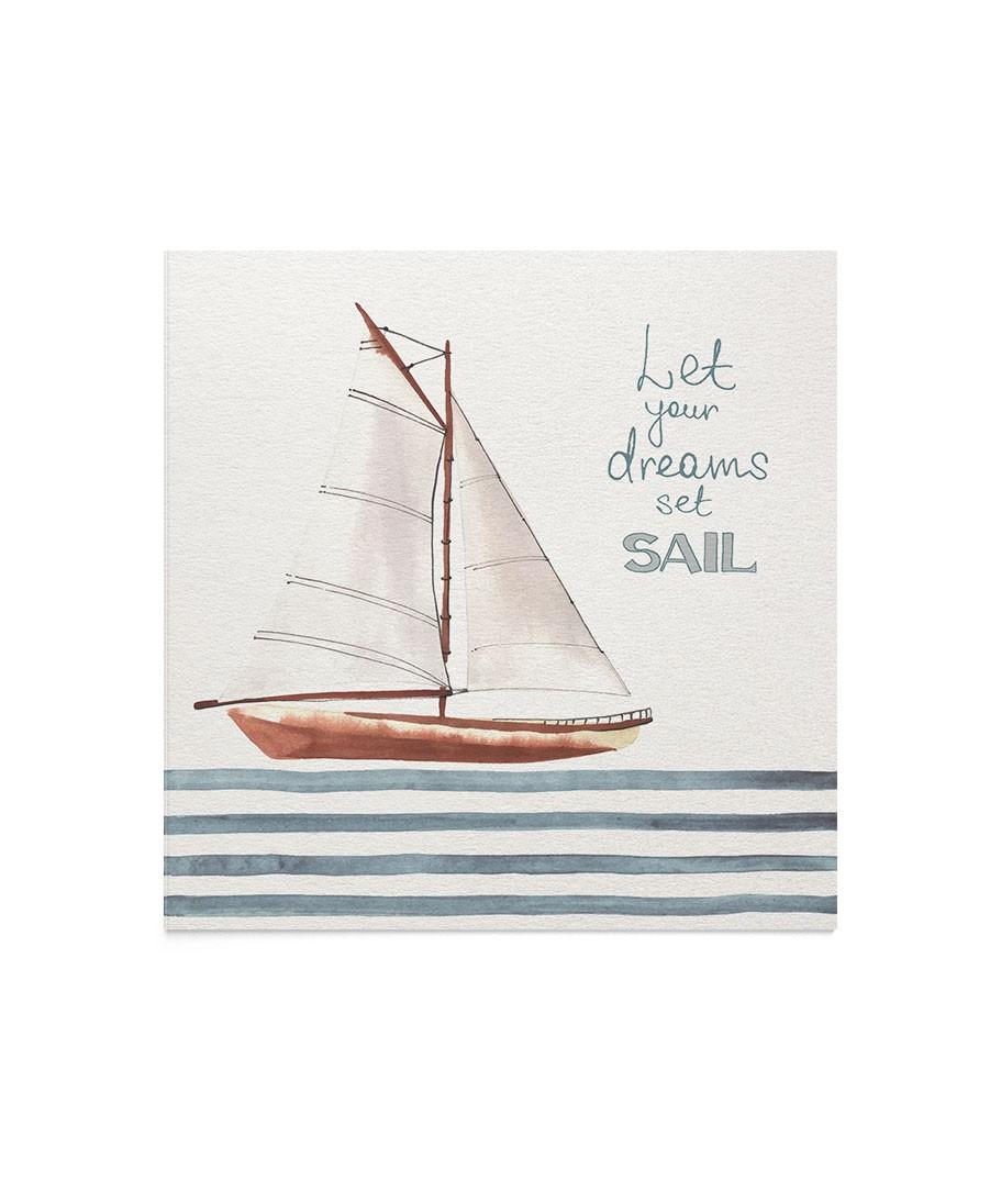 Felicitare Dream Set Sail