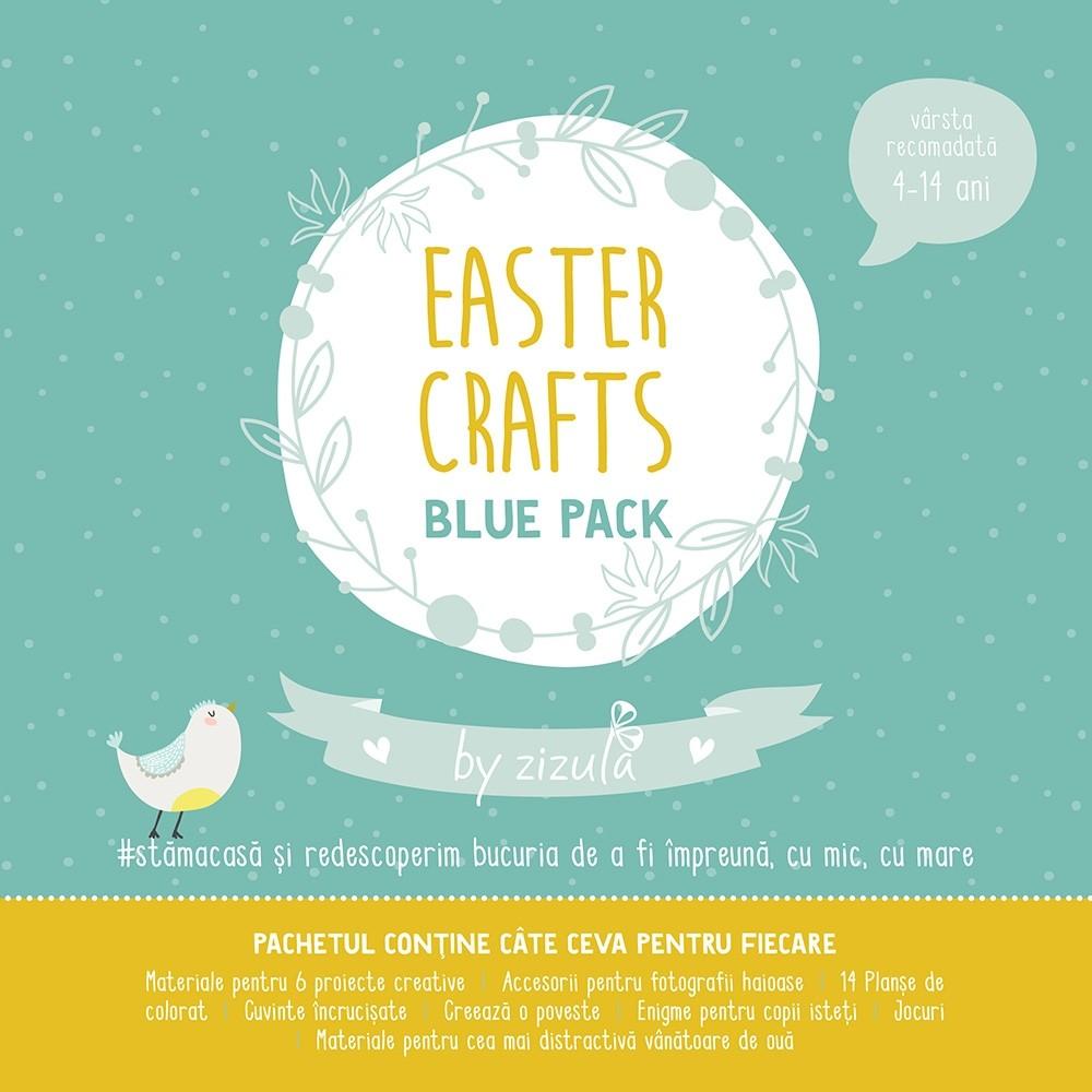 Pachet Activitati Paste Easter Crafts Blue Pack