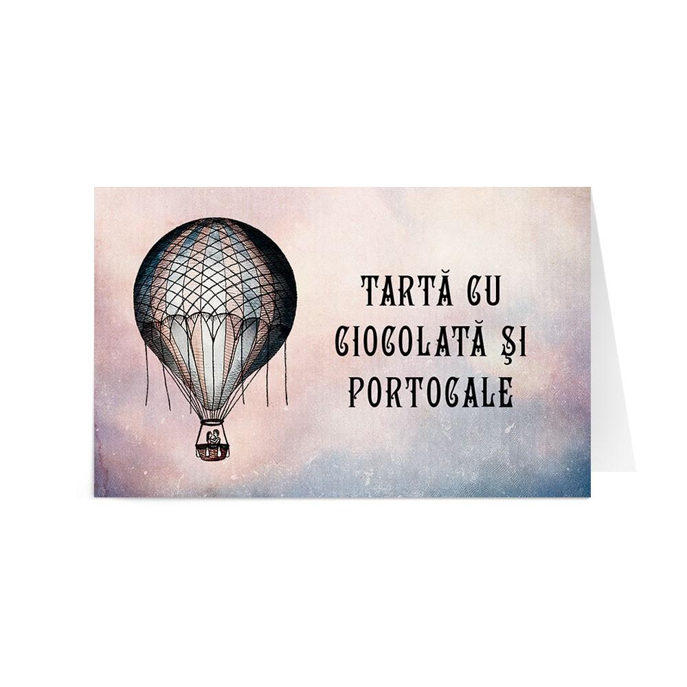 Eticheta prajituri Balloon Story
