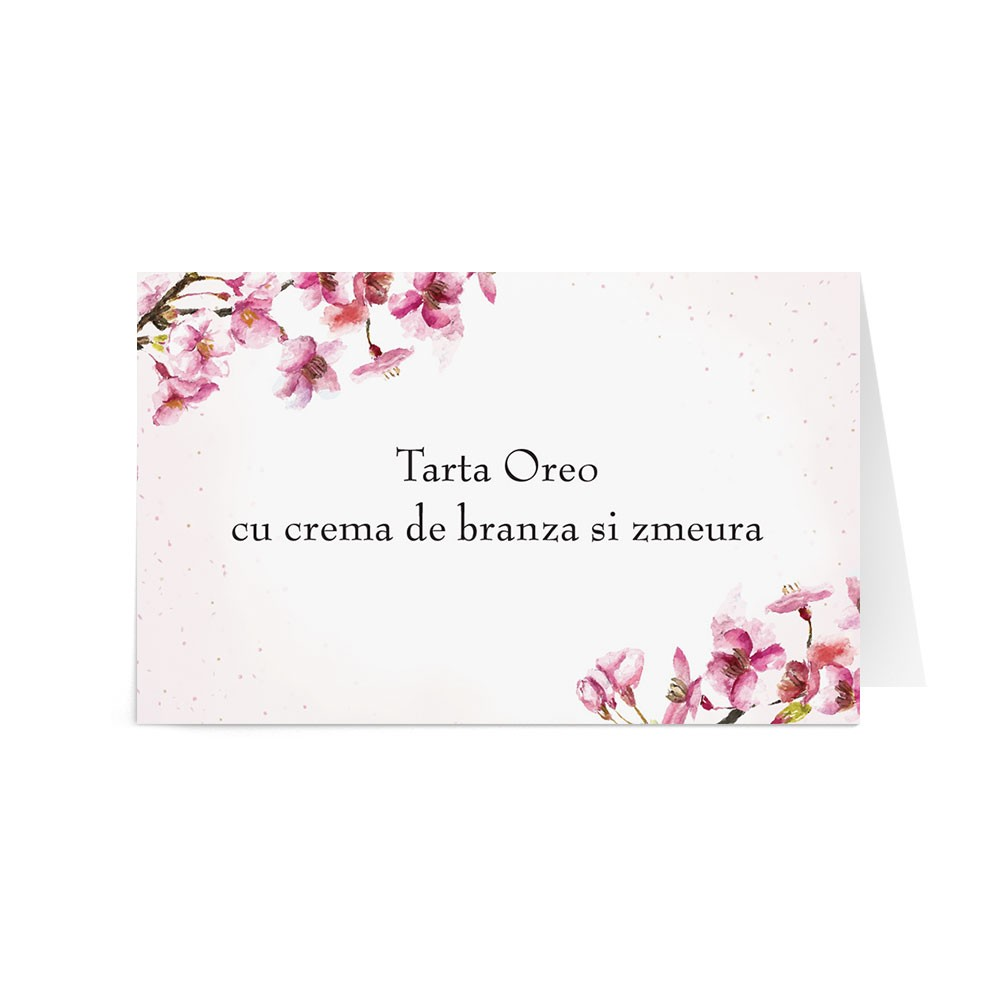 Eticheta prajituri Cherry Love