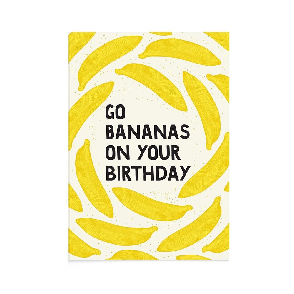 Felicitare La Multi Ani Go Bananas