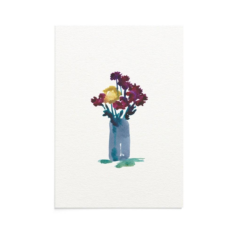 Felicitare Flori Toamna Autumn Vase