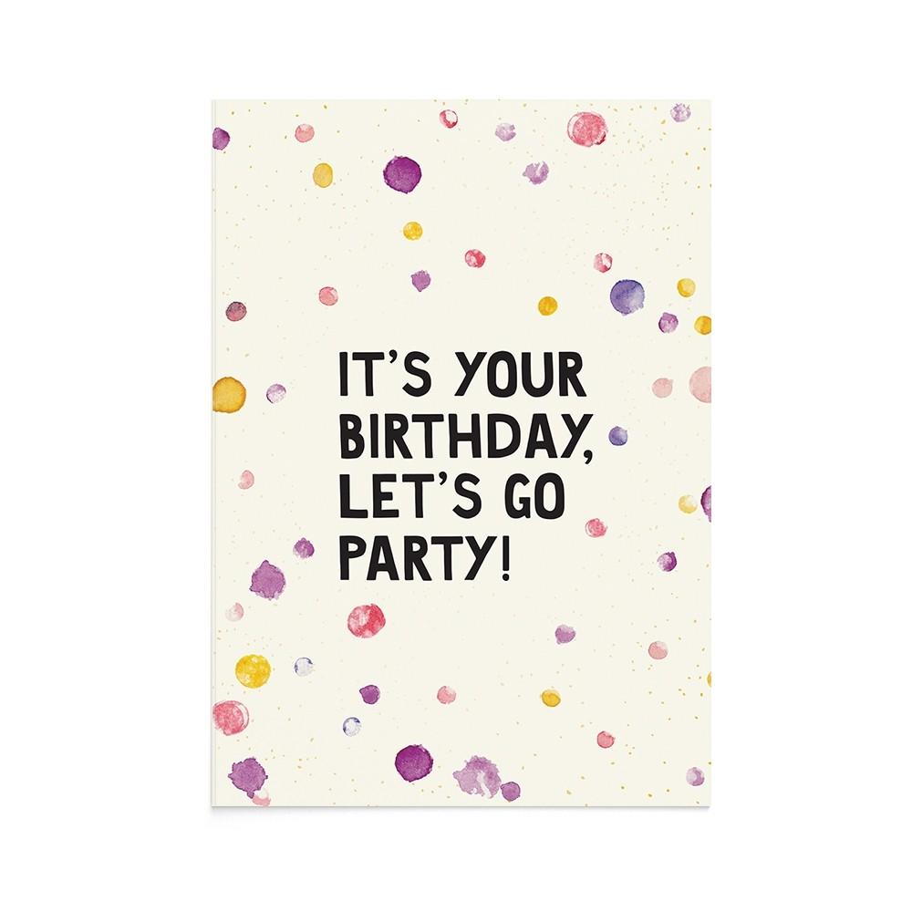 Felicitare La Multi Ani Birthday Party