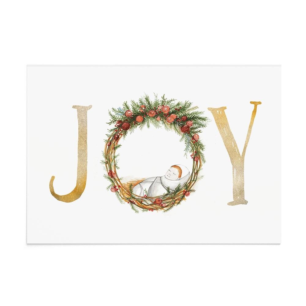 Felicitare Craciun Christmas Baby Joy