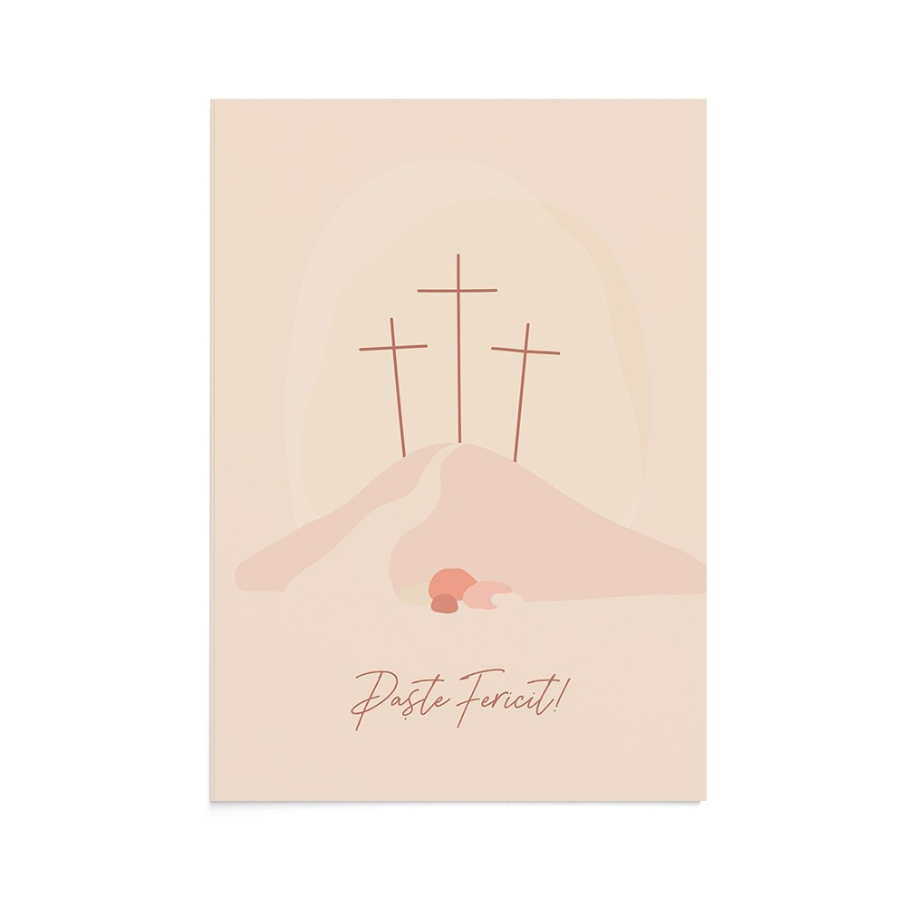 Felicitare Easter Calvary