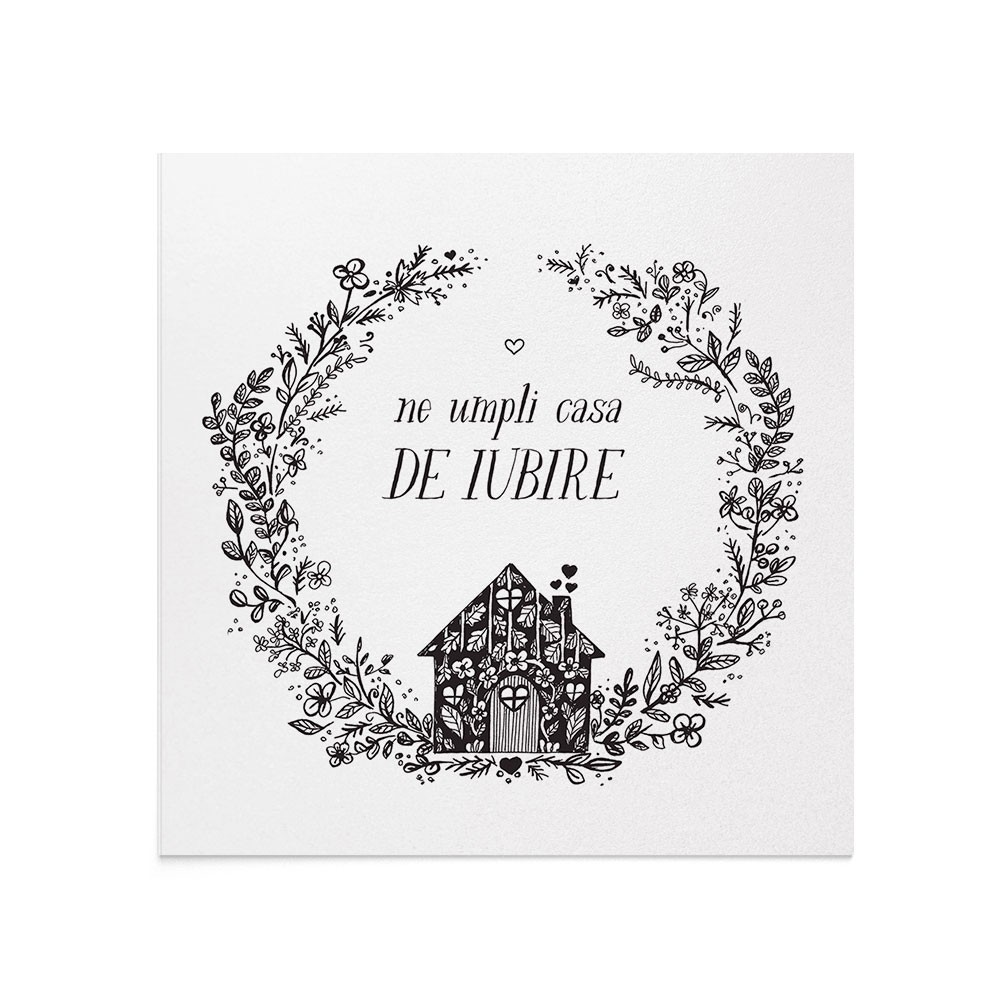 Felicitare 8 Martie Love House