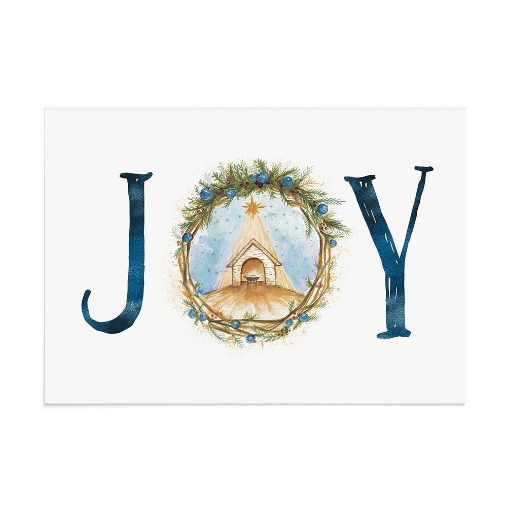Felicitare Craciun Nativity Joy