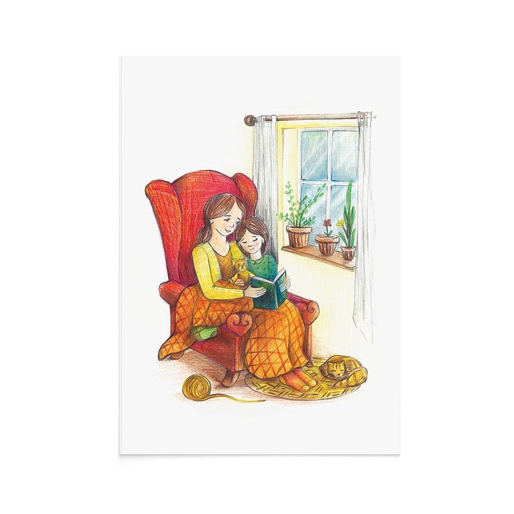Felicitare 8 Martie Reading Corner