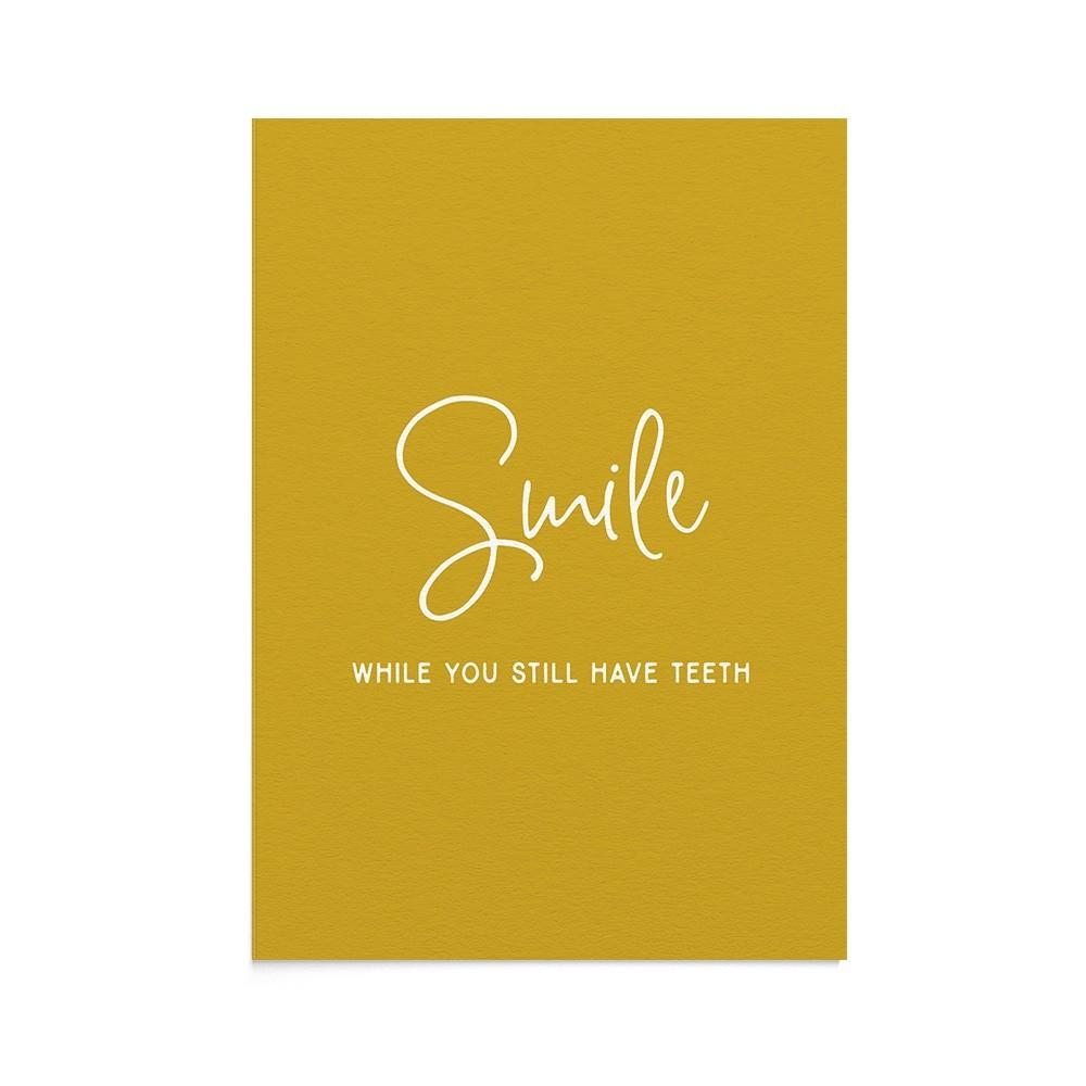 Felicitare Mesaj Funny Smile