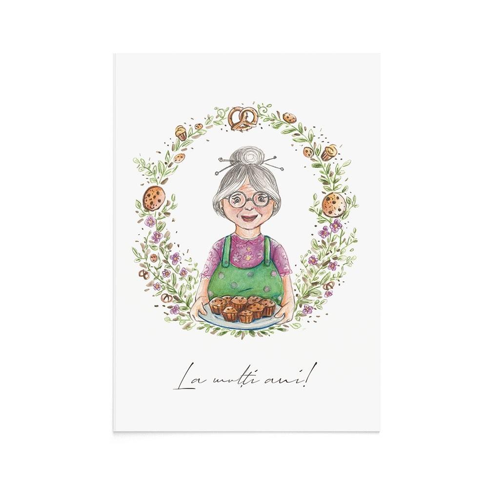 Felicitare La Multi Ani Sweet Grandma