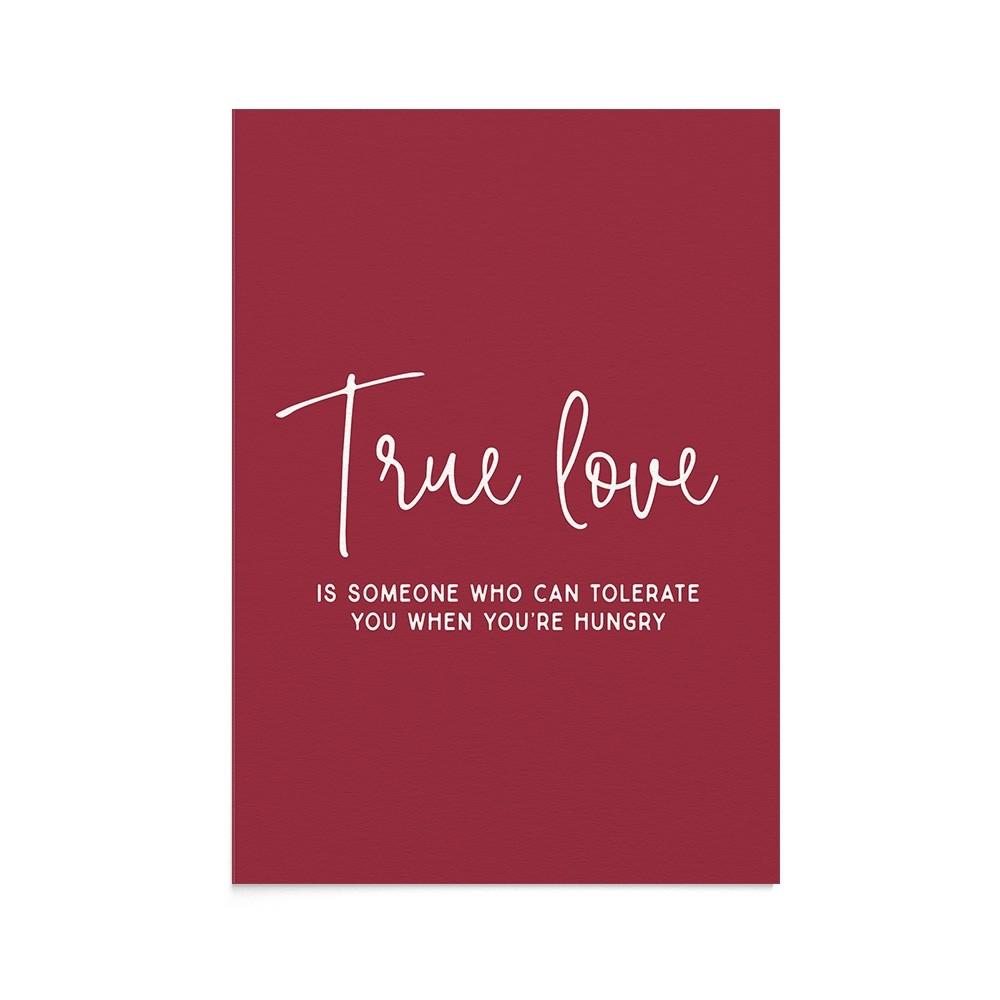 Felicitare Mesaj Funny True Love