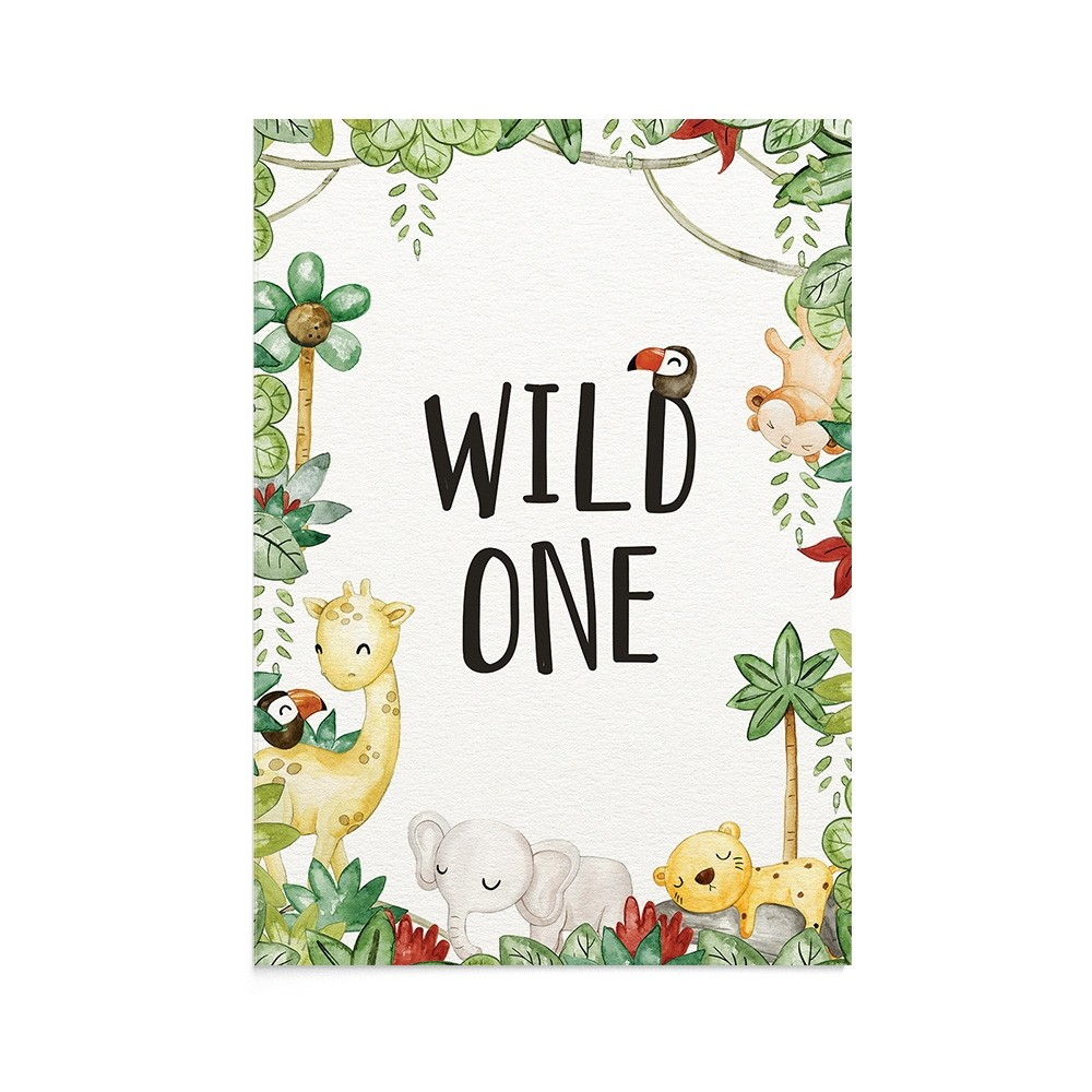 Felicitare Copii Wild One
