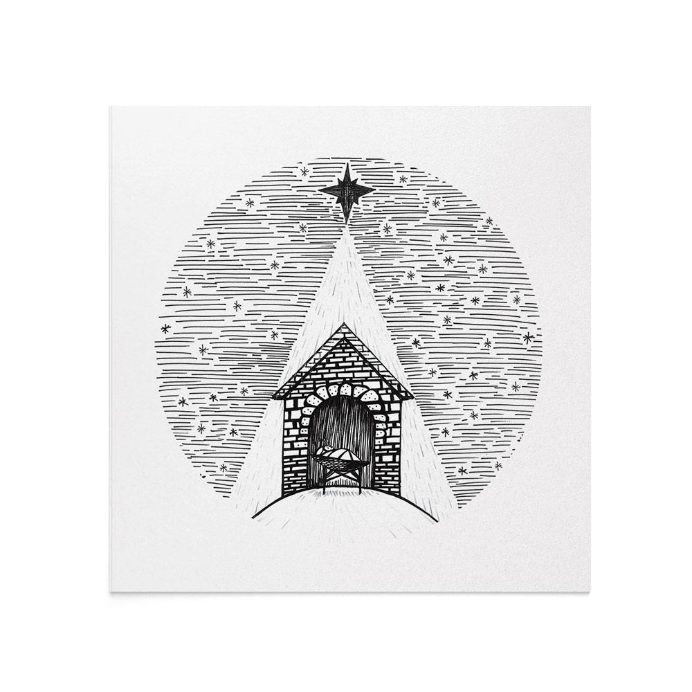 Felicitare Craciun Winter Nativity Story