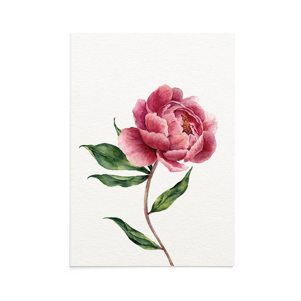 Felicitare Botanical Sweet Peony