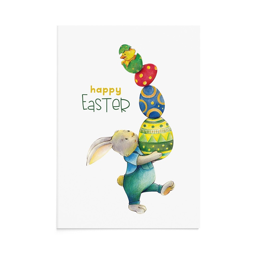 Felicitare Paste Bussy Easter