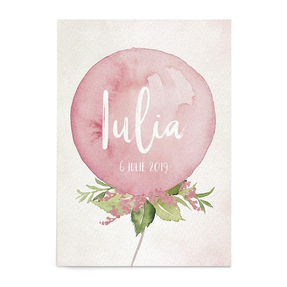 Invitatie digitala Sweet Balloons