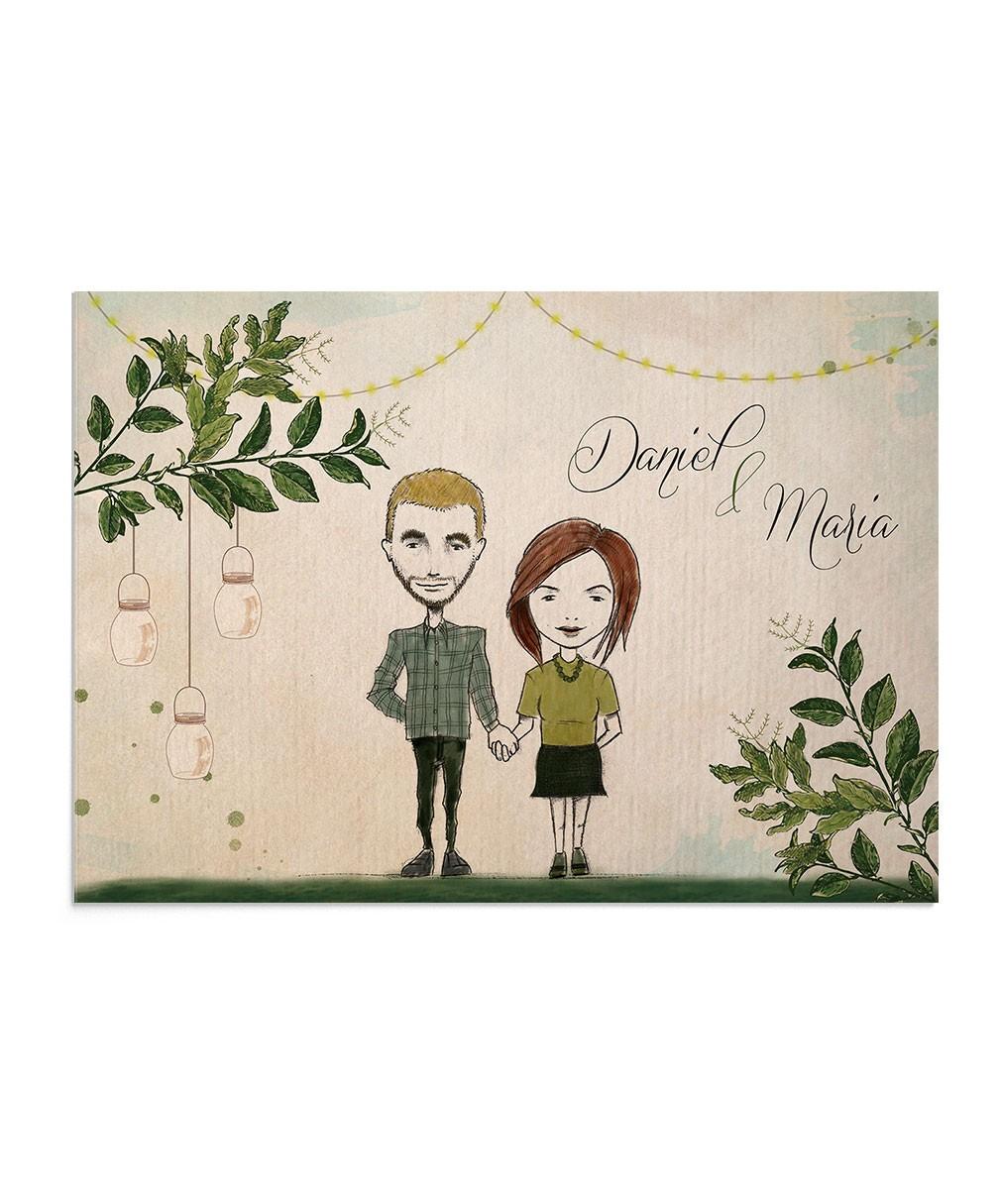 Invitatie nunta Always Together