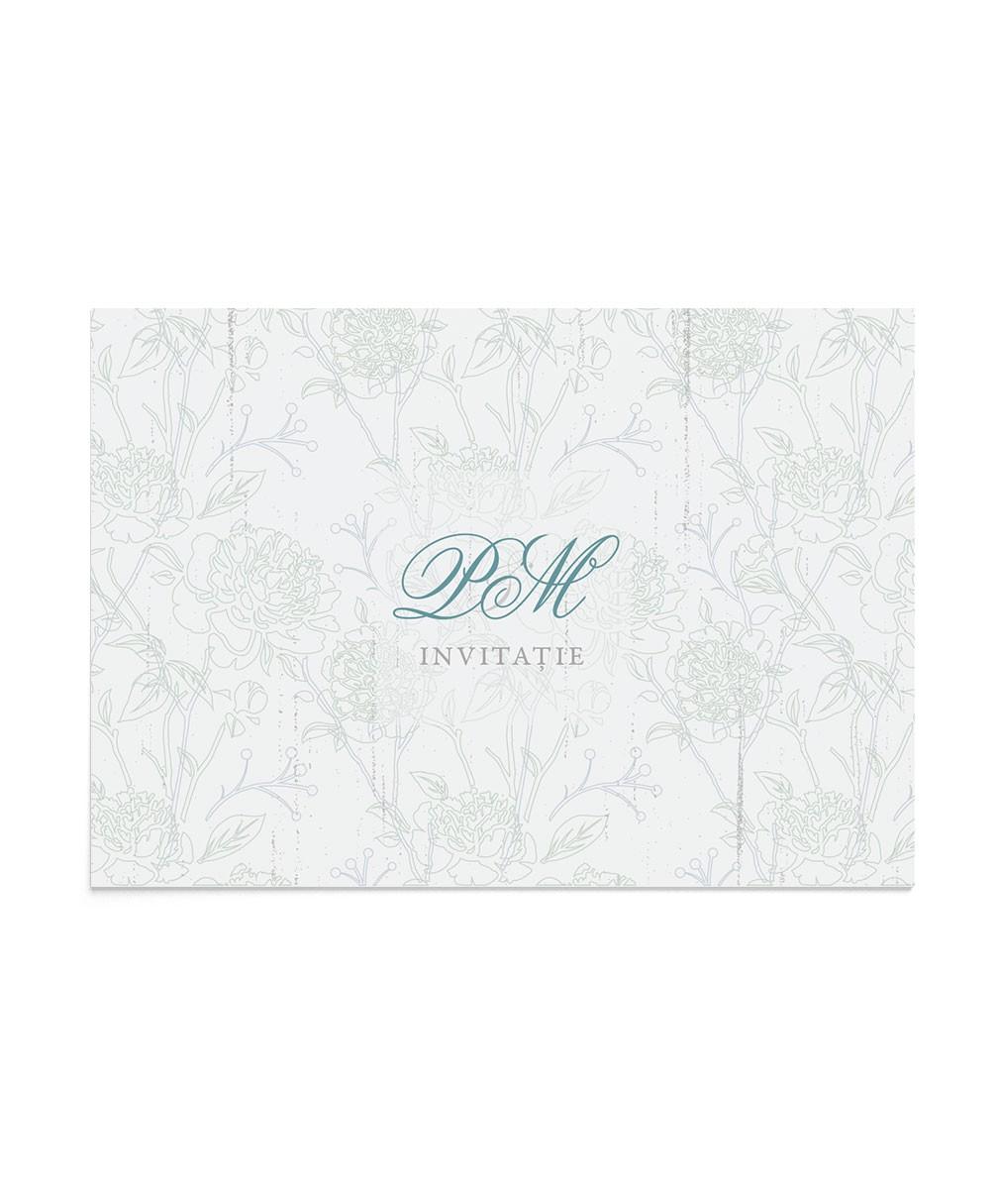 Invitatie de nunta Royal Flowers