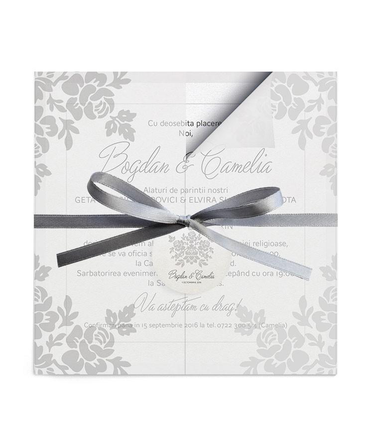 Invitatie de nunta Soft Embrace