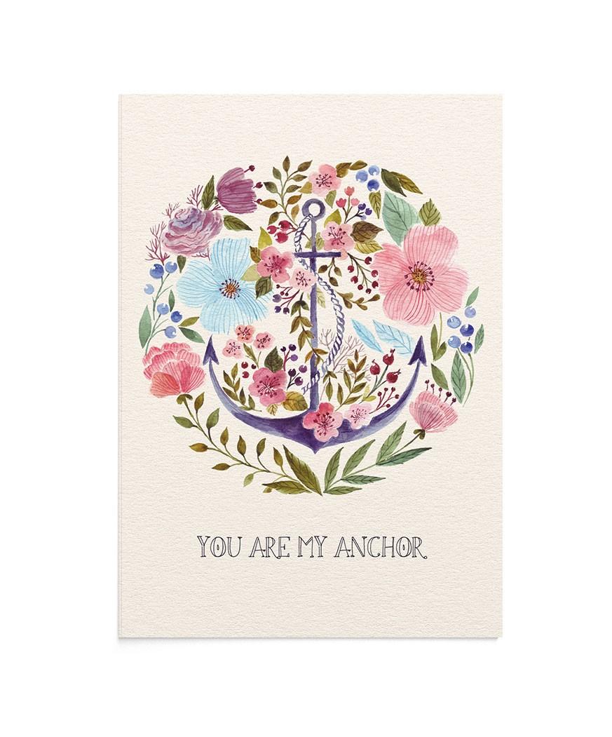 Felicitare My Anchor