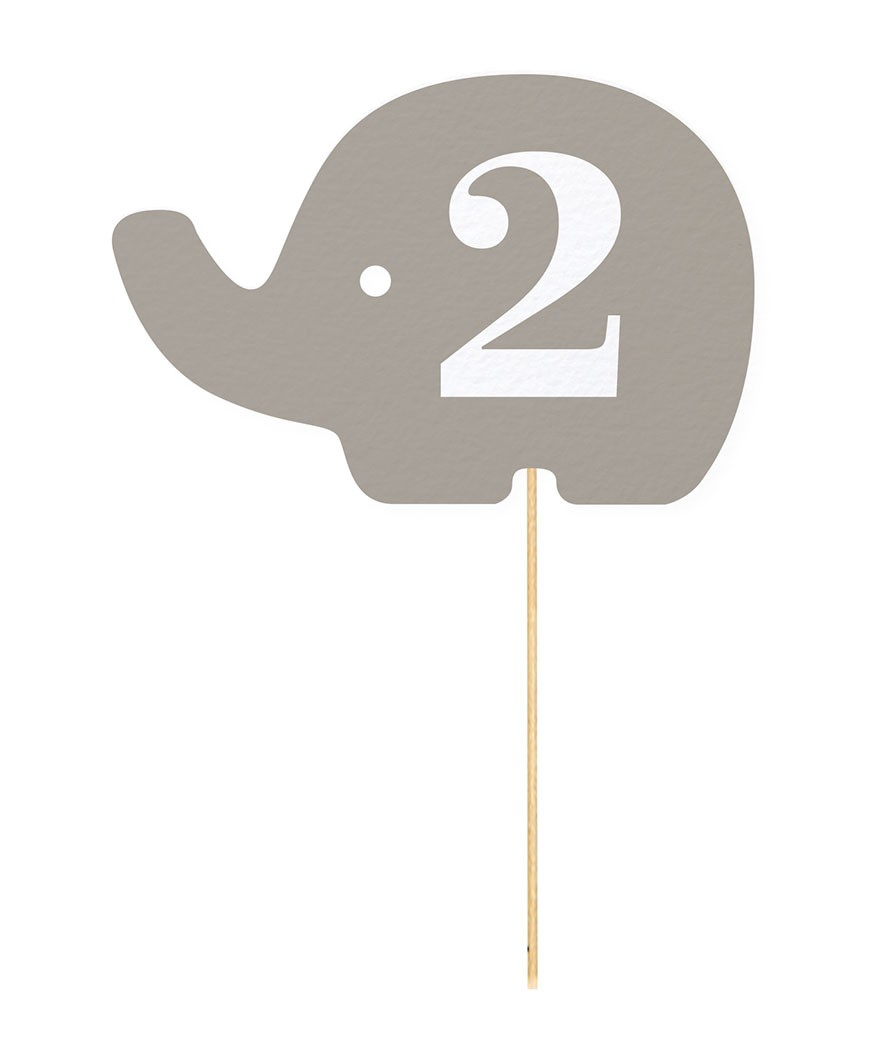 Numar de masa Baby Elephant