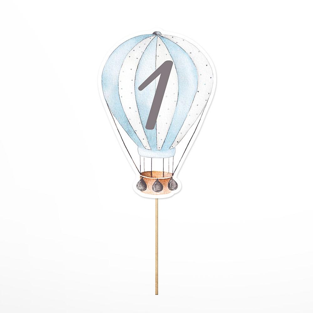 Numar de masa Hot Air Balloon