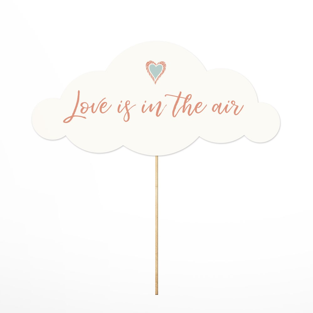 Photo Props Love is in the air