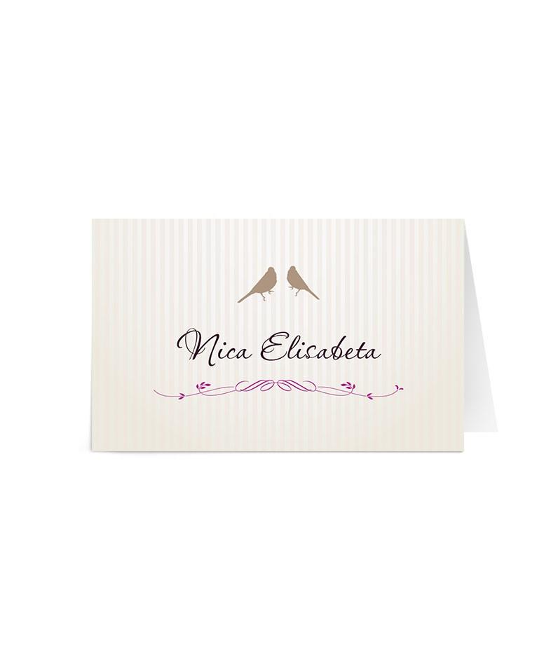 Card de nume Blossom Branch
