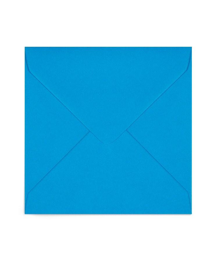 Plic 13x13 albastru-turcoaz