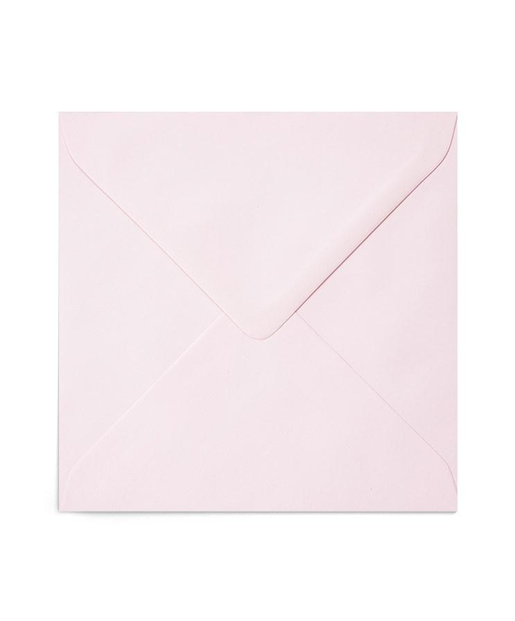 Plic patrat roz pastel