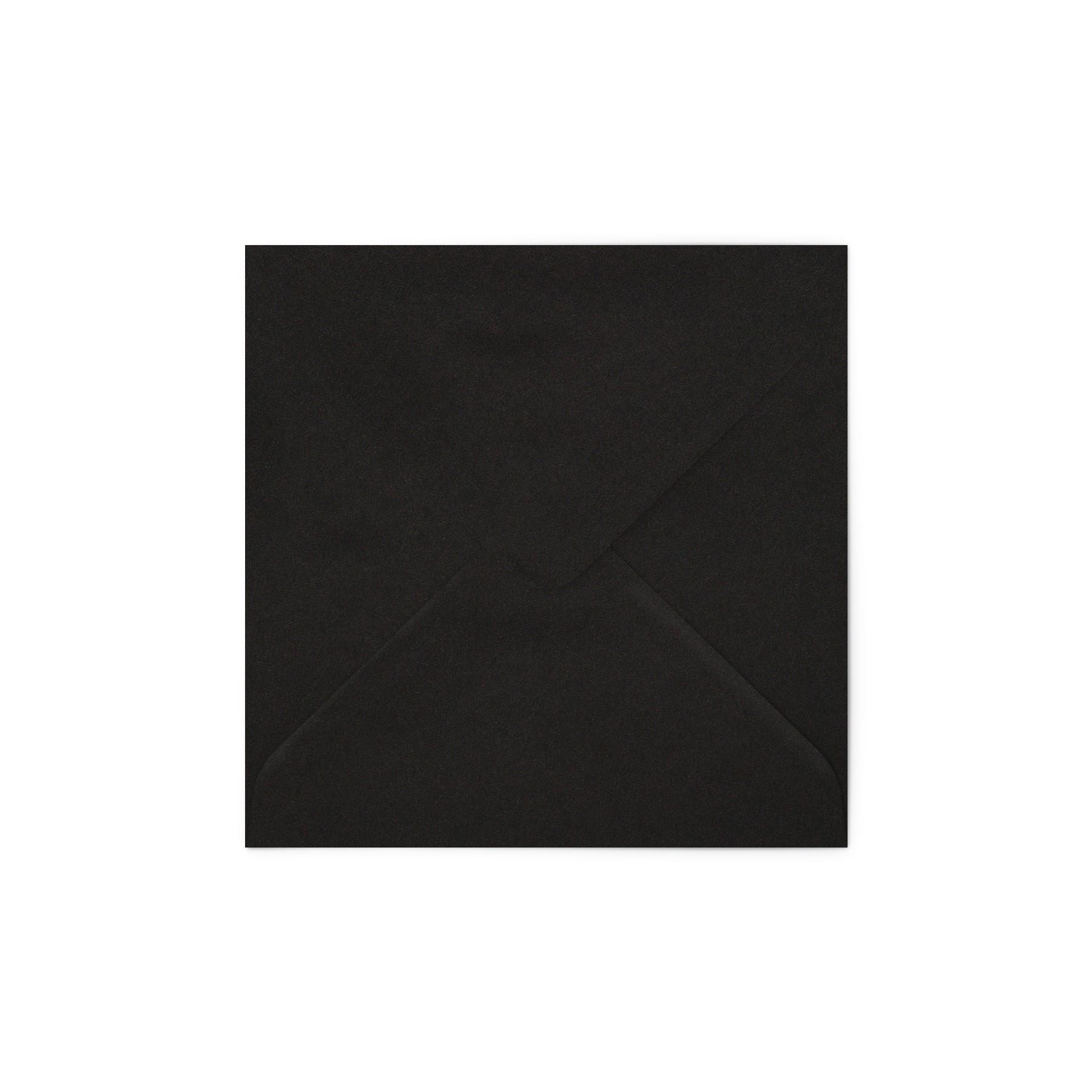 Plic patrat Deep Black Mat