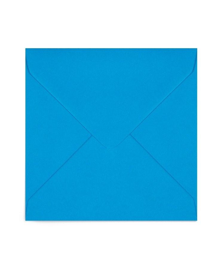Plic patrat albastru-turcoaz 155X155 mm
