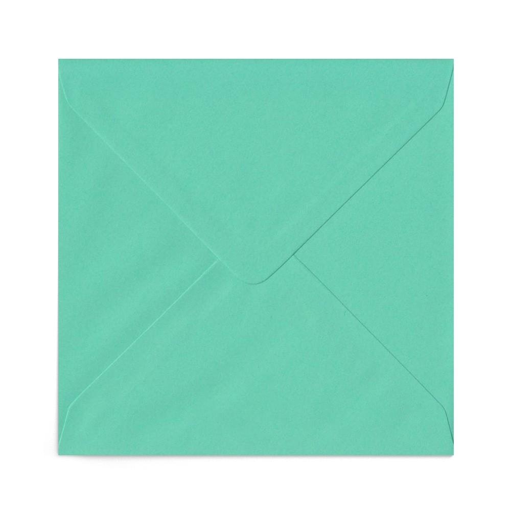 Plic patrat verde mint 155X155 mm