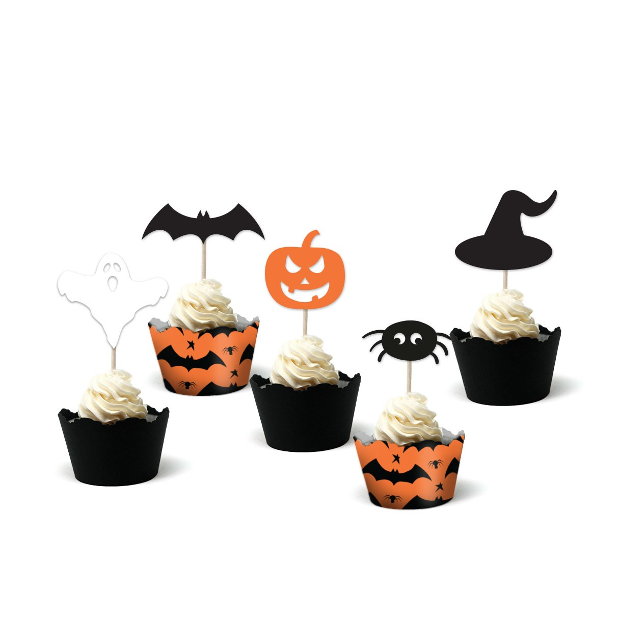 Accesorii Halloween Wrappers & Toppers