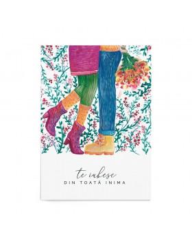 Poster Valentine's Beautiful Embrace