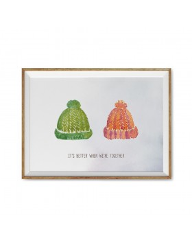 Art Print Better Together