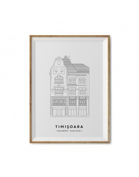Art Print Casa Bruck Timisoara