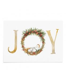 Poster Art Print Christmas Baby Joy