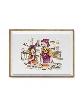Poster Art Print Cooking Time