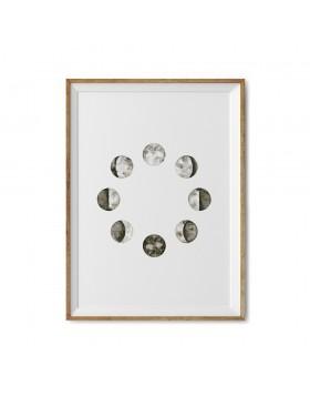 Art Print Cosmic Rotation