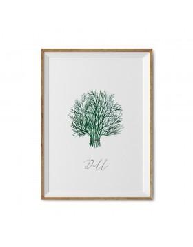 Art Print Dill