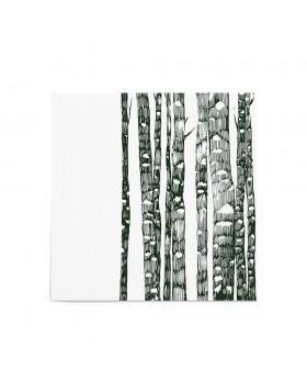 Poster Art Print Emerald Forest