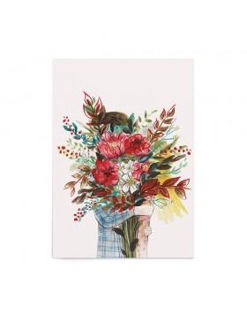 Poster Valentine's Floral Embrace