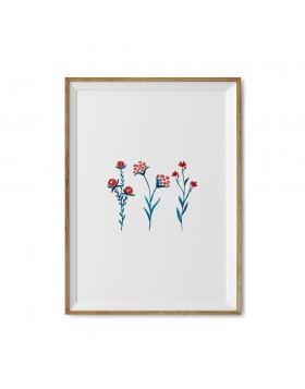 Art Print Folk Herbs