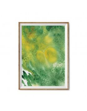 Art Print Forest Lake