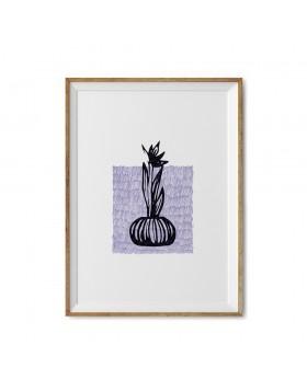 Art Print Iris Stamp