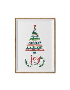 Poster Art Print Joy to the World