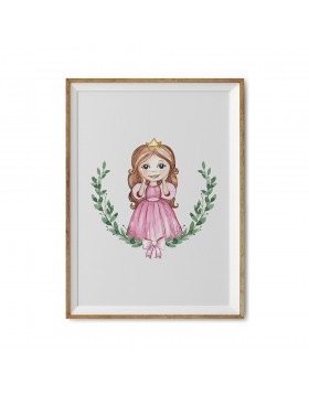 Art Print Little Princess Bella