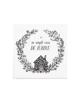 Poster Art Print Love House
