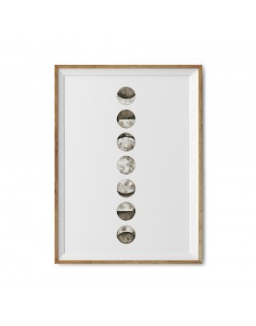 Art Print Moon Phases